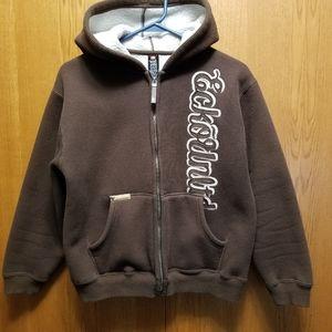 Ecko Unlimited fleece lined zip hoodie